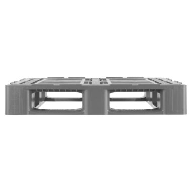 Kunststof Industrie-Block-Pallet CR3 1200x1000x160 mm, 3 onderlatten en antislip strips