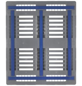 Palette industrielle CR3-5 1200x1000x160 mm, 5 traverses , charges lourders