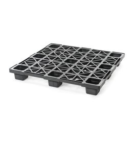 Palette conteneur légère emboitable  1140x1140x140, planché ouvert