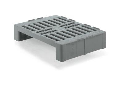 Plastic Halfsize H2 Hygiene pallet 800x600x160 mm, Open deck