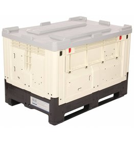 SmartBox 1200x800x790 mm, Glatte und geschlossene Wände.