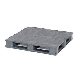 Container pallet 1140x1140x165 mm , 6 onderlatten , Gesloten dek