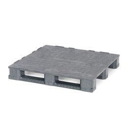 Container pallet 1140x1140x165 mm , 3 onderlatten , Gesloten dek