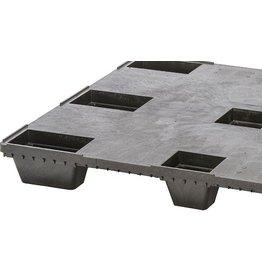 Nestbare Exportpalette 1200x1000x134 ,9 Füsse, Geschlossen Deck
