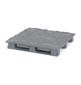 Industrie -Palette1200x1200x165 mm, 3 Kufen, Geschlossen