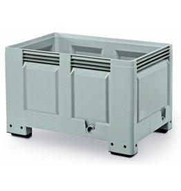 Caisse palette rigide 1200x800x760 mm, parois fermées, sur pieds