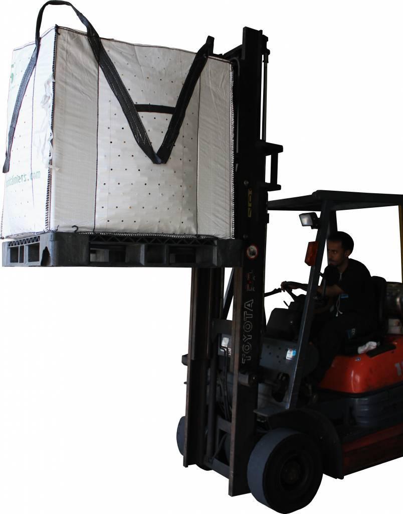 VEGGY103-CP9 faltbarer Schwerlastbehälter, 1140x1140x1030
