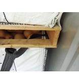 VEGGY103-CP9, conteneur entièrement repliable extrêmement robuste, 1140x1140x1030 mm