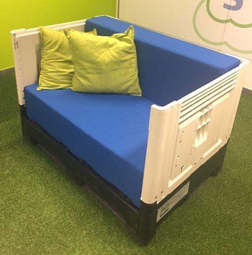 Soft Smart Sofa • avec coussins
