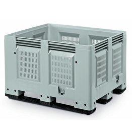 Pallet box • 1200x1000x790 • geperforeerde versie • 3 onderlatten