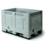 Pallet boxes 1200x800x790 closed walls and bottom, 3 Runners