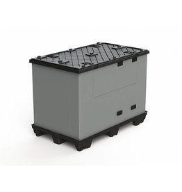 ECOPACK CLASSIC Faltbehälter  1200x800x995 mm, 9 Füssen