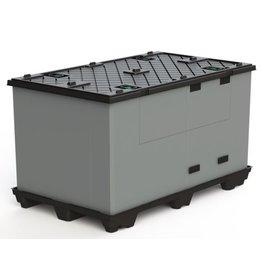 ECOPACK CLASSIC Faltbehälter  1200x1000x990mm, 9 Füssen