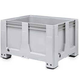 Maxilog® Palettenbox , 1200x1000x760 Geschlossene Wände en Bodem, 4 Füssen