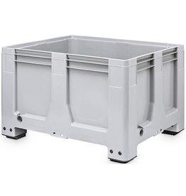 Maxilog® Pallet box 1200x1000x760 gesloten wanden, 4 poten