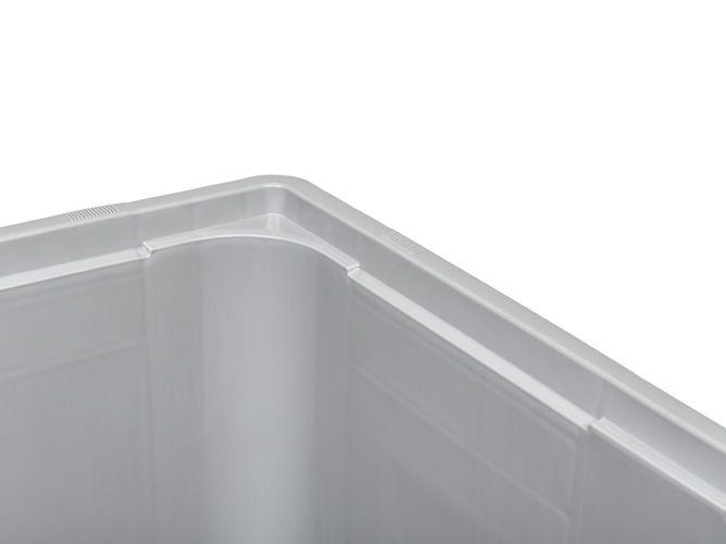 Caisse palette rigide Maxilog® 1200x1000x760 mm, 610 Litres, parois fermées, 3 semelles