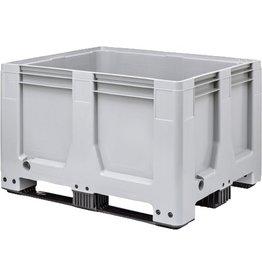 Maxilog® Palettenbox , 1200x1000x760 Geschlossene Wände en Bodem, 3 Kufen