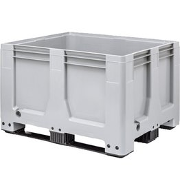 Maxilog® Pallet box 1200x1000x760 gesloten wanden, 3 onderlatten