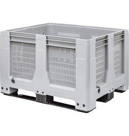 Maxilog® Pallet box • 1200x1000x760 • open wanden, 3 onderlatten