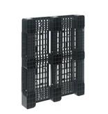 Plastic Blockpallet • 1200x1000x150 • with 3 runners • open deck