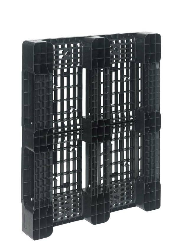 Palette Industrie en plastique • 1200x1000x150 • 3 semelles • planché ajouré