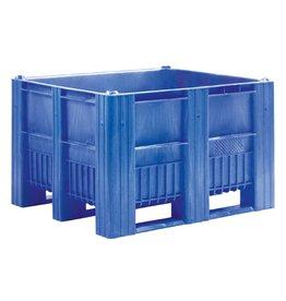 C Palettenbox • 1200x1000x740 Geschlossen • 3 Kufen