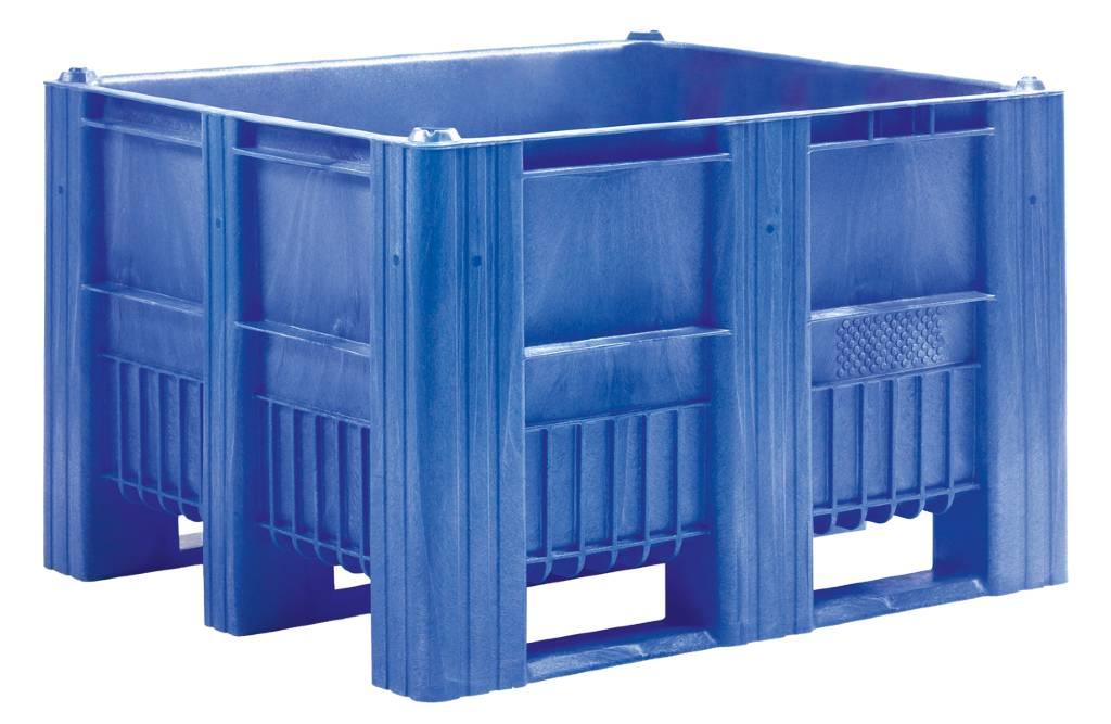 CB3 Pallet box • 1200x1000x740 • gesloten wanden en bodem • 3 onderlatten