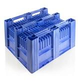 CB3  Palettenbox • 1200x1000x740 • Geschlossene Wände und Boden • 3 Kufen