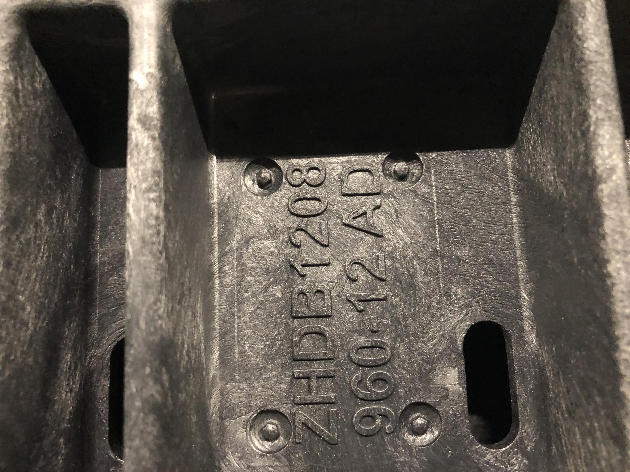 GitterPak FLC 1200x800x960 mm - une fois utilisé