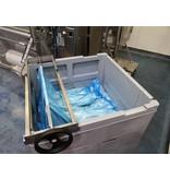 Contraload Wringer zum Entleeren von Flüssigkeitsbehältern mit einer Liner