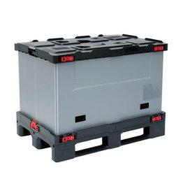 Smart Faltbehälter 1200x800x850 mm, 3 Kufen.