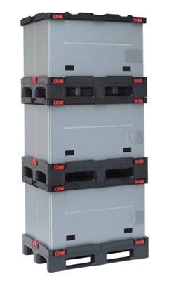 Smart Sleeve Pack 1200x800x850 mm met 3 onderlatten