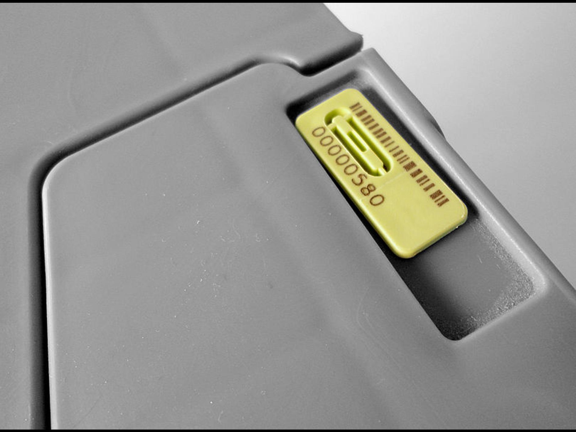 Contraload Sicherheitsplombe für Hybrid mit Personalisierung