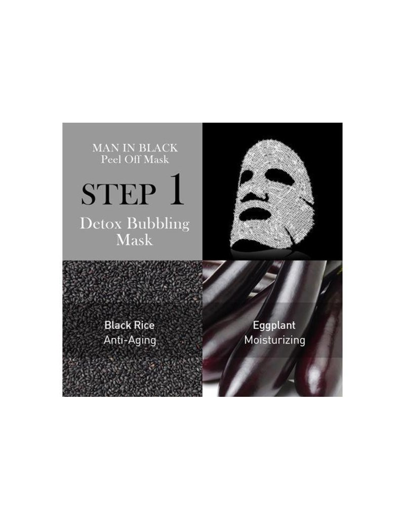 OMG! OMG! - Man In Black Peel Off Mask