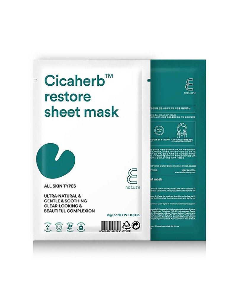E-Nature E-Nature Cicaherb Restore Sheet Mask