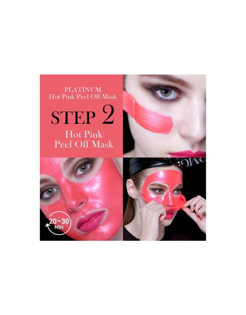 OMG! OMG! - Platinum Hot Pink Facial Mask Kit