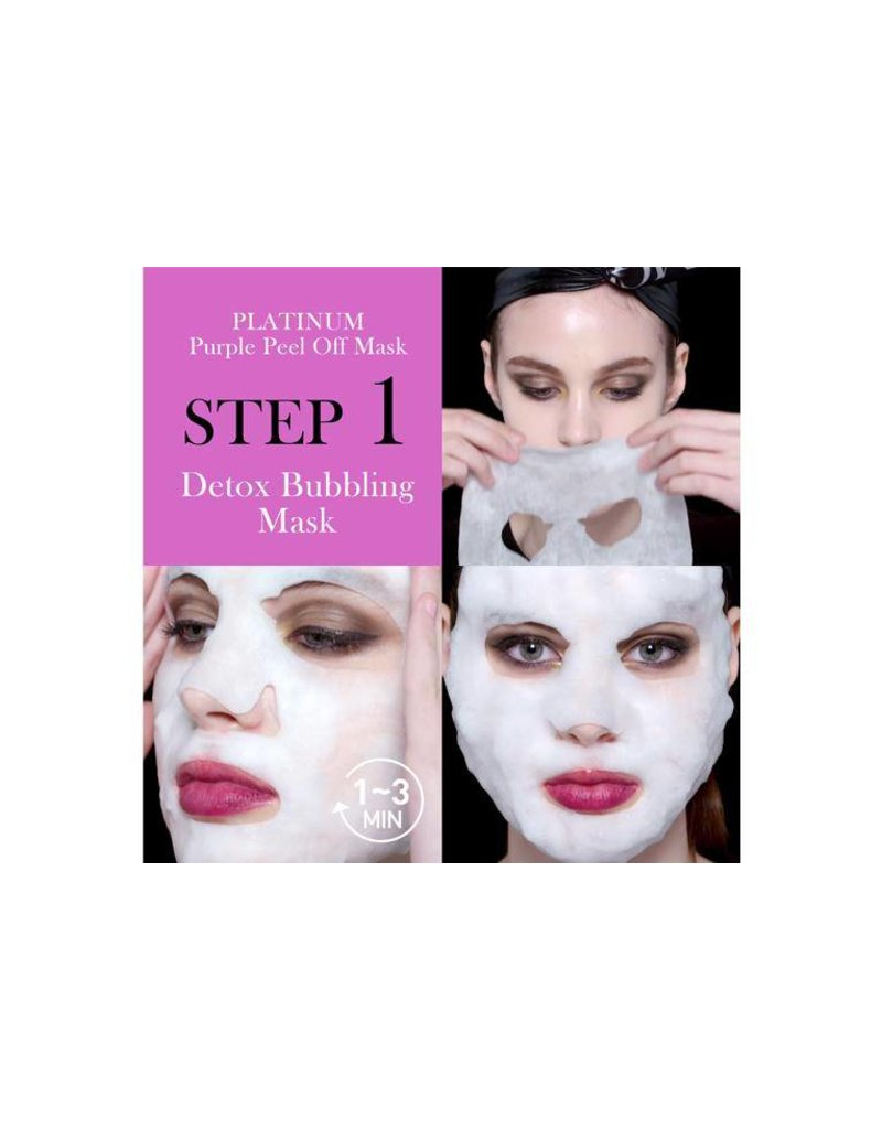 OMG! OMG! - Platinum Purple Facial Mask Kit