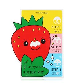 Tony Moly Tony Moly - Strawberry Seeds 3-step Nose Pack