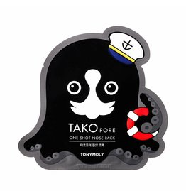 Tony Moly Tony Moly - Tako Pore One Shot Nose Pack