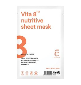 E-Nature E-Nature - Vita 8 Nutritive Sheet Mask