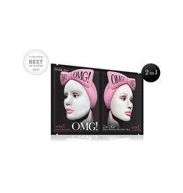 OMG! OMG! - 2-in-1 kit Detox Bubbling Microfiber Mask
