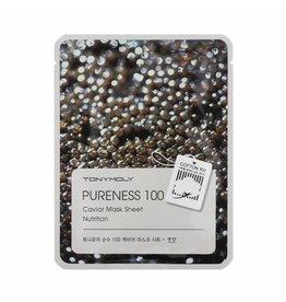 Tony Moly Tony Moly Pureness 100 - Kaviaar Sheet Masker