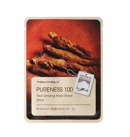 Tony Moly Tony Moly Pureness 100 - Rode Ginseng Sheet Masker