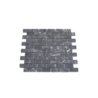 MRMLX  | Toros Black Tumbled  2,3 x 4,8 x 1 cm