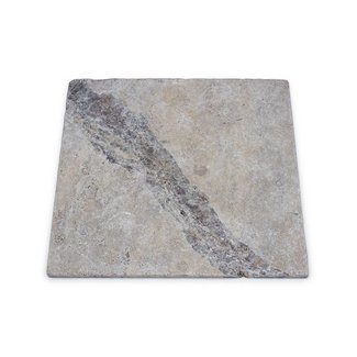MRMLX  | Travertine Silver Tumbled 40,6 x 40,6 x 1 cm