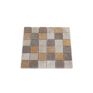 Travertine Mix Large 30,5 x 30,5 x 1 cm