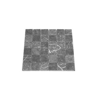 MRMLX  | Toros Black Tumbled  4,8 x 4,8 x 1 cm