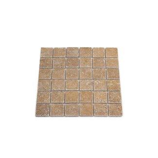 Travertine Noce Large 30,5 x 30,5 x 1 cm