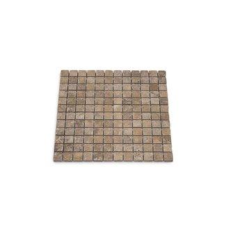 Travertine Noce Small 30,5 x 30,5 x 1 cm