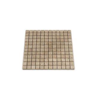 MRMLX | Travertine Light Tumbled 2,3 x 2,3 x 1 cm